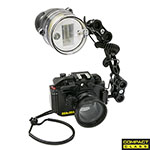 "MDX-RX100 III HOUSING + YS-D1 STROBE 5"" ARM PACKAGE, SS-06651"