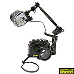 "MDX-RX100 III HOUSING + YS-01 STROBE 8"" ARM PACKAGE, SS-06653"
